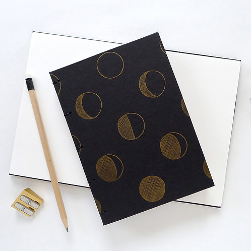 Hard Cover Moon Phases Journal