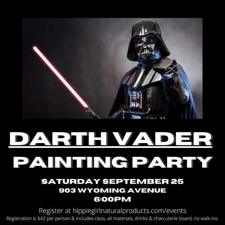 Darth Vader Painting Party