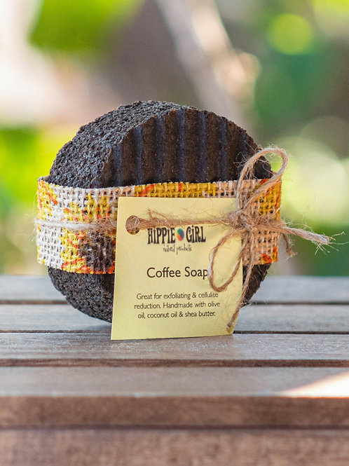 Sunflower Coffee Soap