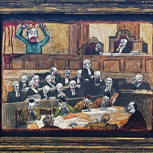 Judjemental framed