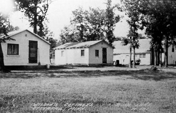 Wilson's cottage Rush Lake Annotation 20