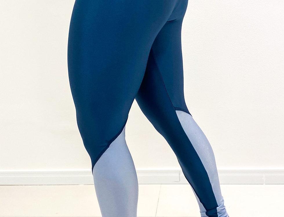 Legging Manu Glow Azul Oceano