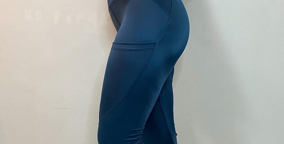 Legging Lia Azul Carbono