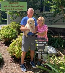 Tom and Karen Shade -Braeden's forever home