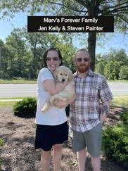 Jen Kelly & Steven Painter with Marv