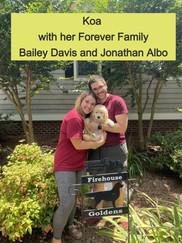 Bailey Davis & Jonathan Albo with Koa
