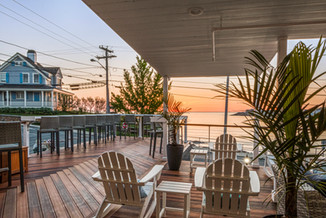 Sunrise on the Main Deck