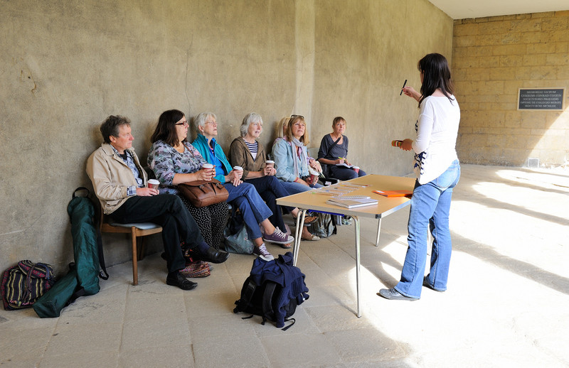 Outdoor workshop at St John's College Oxford