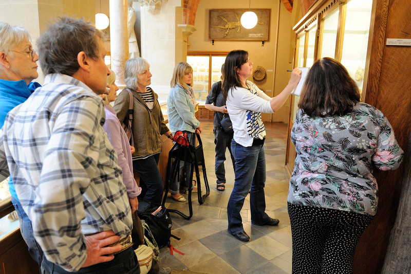 Demonstrating at The Natural History Museum Oxford