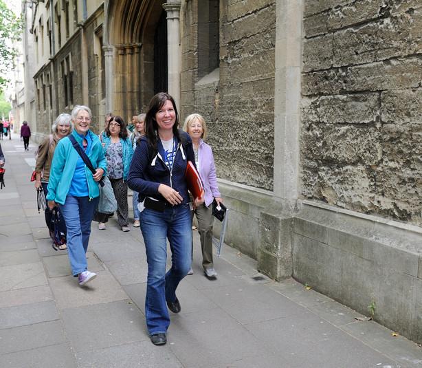 Touring Oxford through sketches