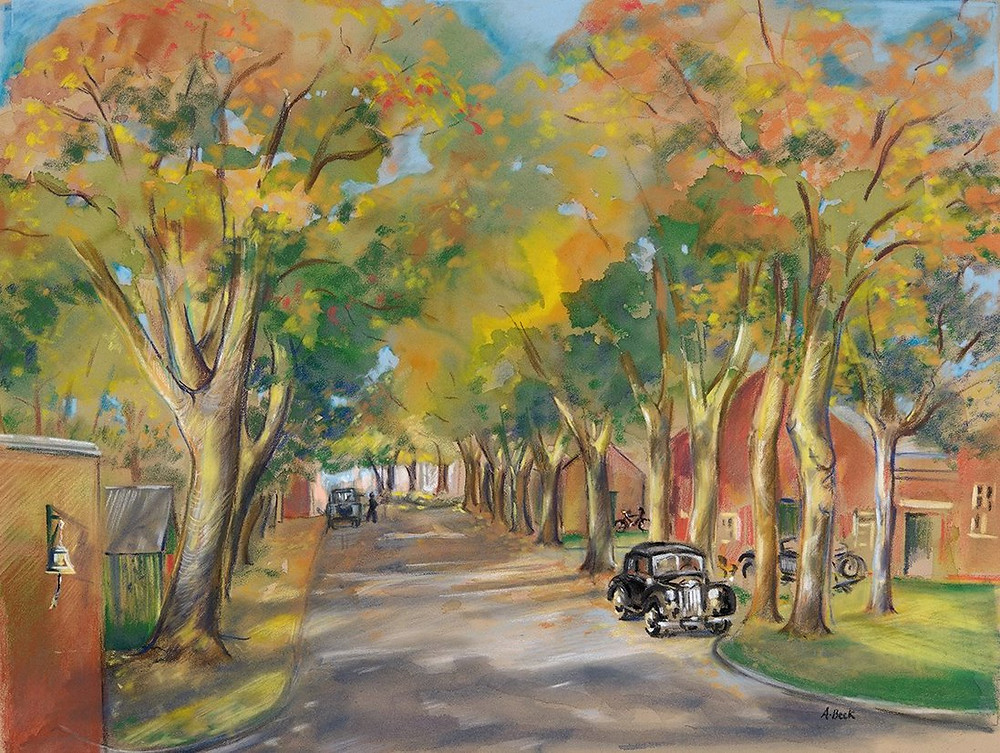 Autumn colours at Bicester Hertiage. Ltd edition prints