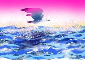Sunrise Seagull Amanda Beck.jpg