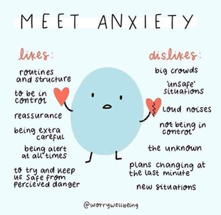 Some of my favorite Anxiety memes