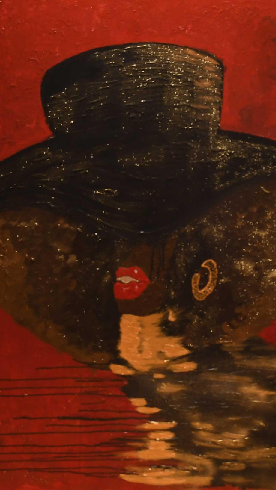 AfroMisozi 150 x 100 cm, 12500 DKK