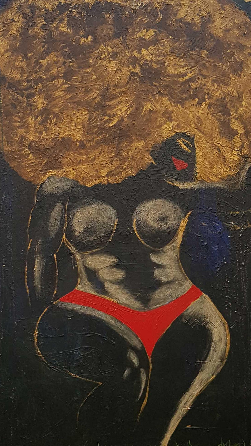 Mavuto Yaba kazi 150 x 100 cm, 15000 DKK