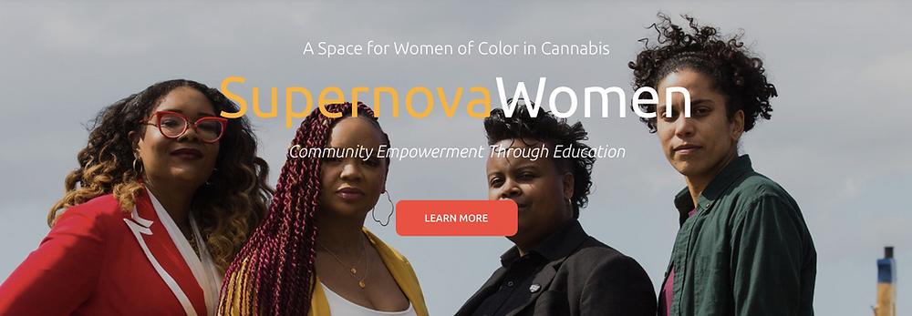 Supernova women cannabis CBD social justice