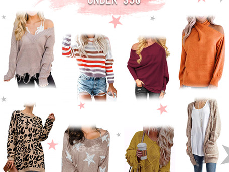 Amazon Sweaters Under $30