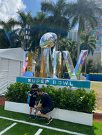 Super Bowl LIV Sign