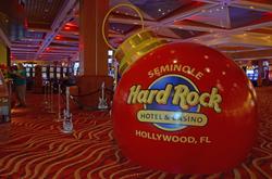 Hard Rock Chistmas Themed
