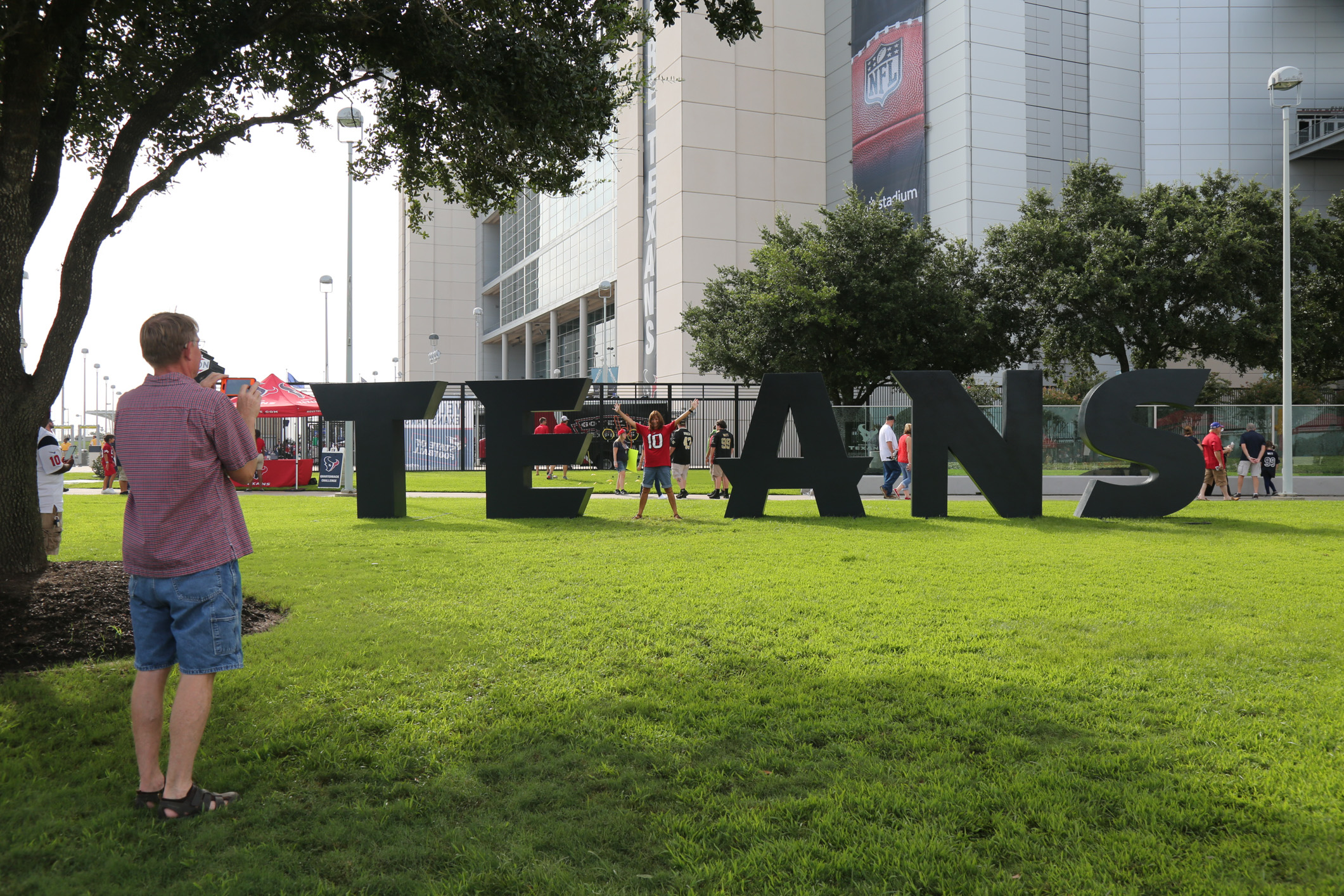 TEXANS Giant Letters