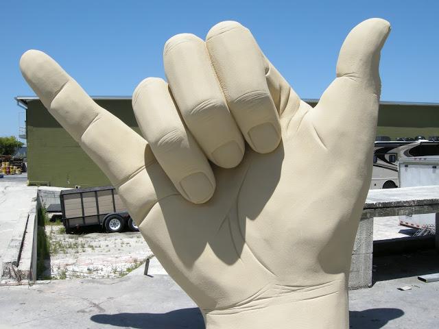 Shaka Hand Giant Hands