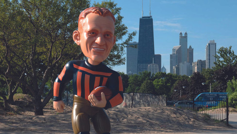 CB Bobbleheads - Red Grange