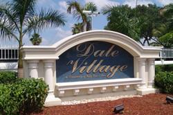 Dale Village Sign Brand