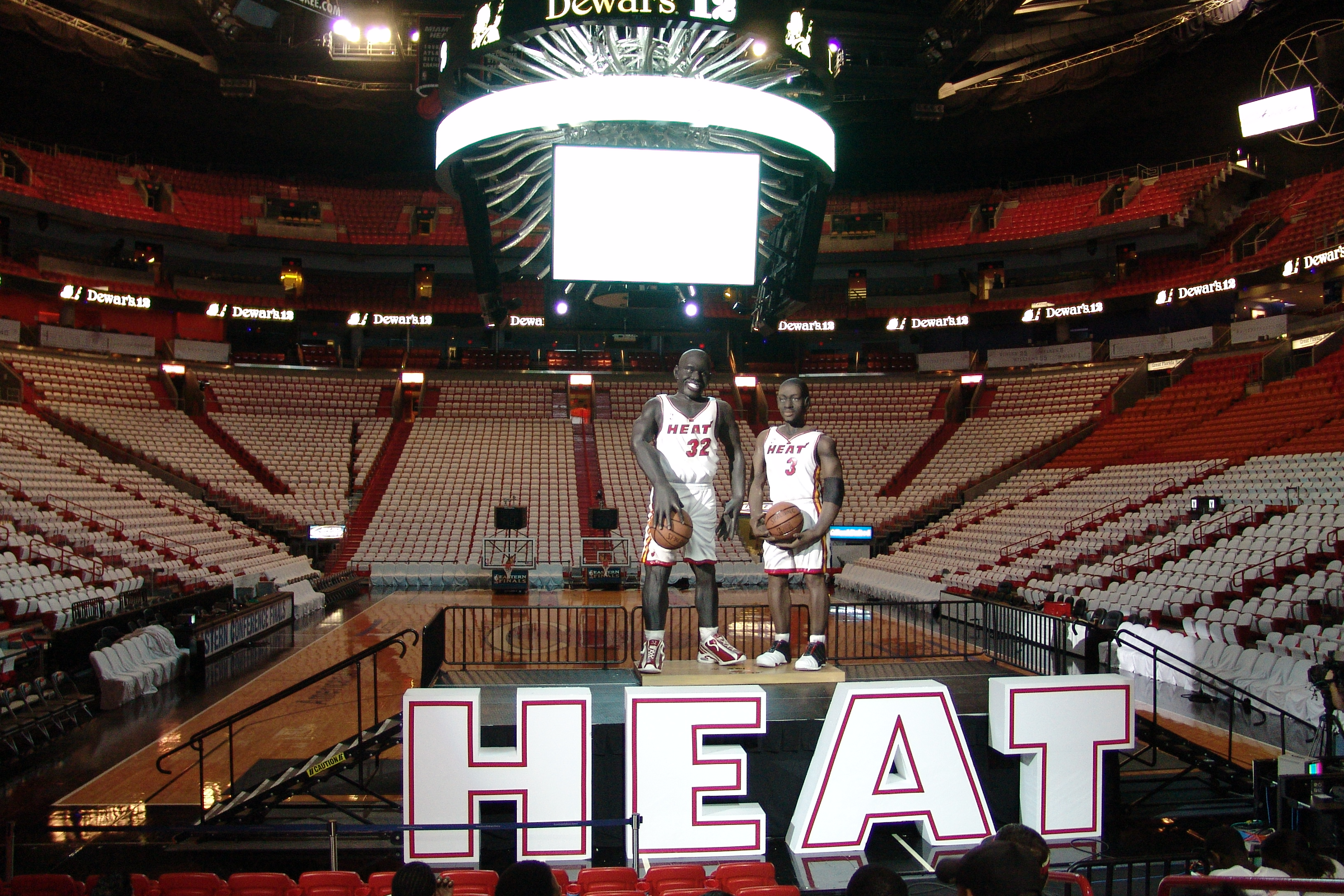 Miami Heat Giant Letters