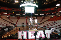 Miami Heat Giant Letters
