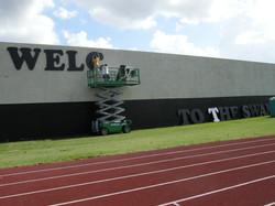 Miramar High School Giant Letters