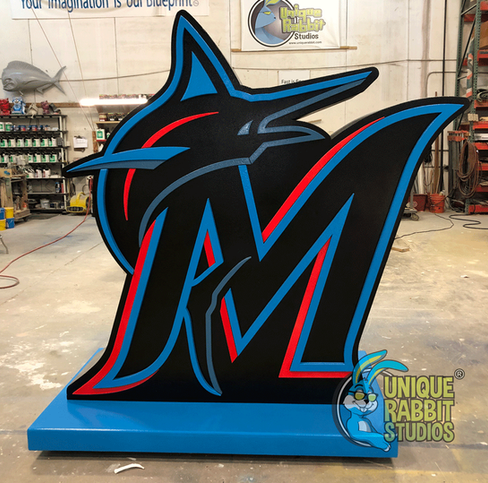 Miami Marlins Photo Op - Logo