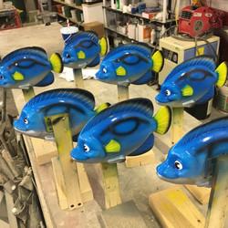 Carton Character Fish