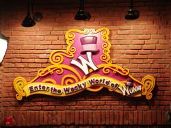 Willy Wonka Sign Brand