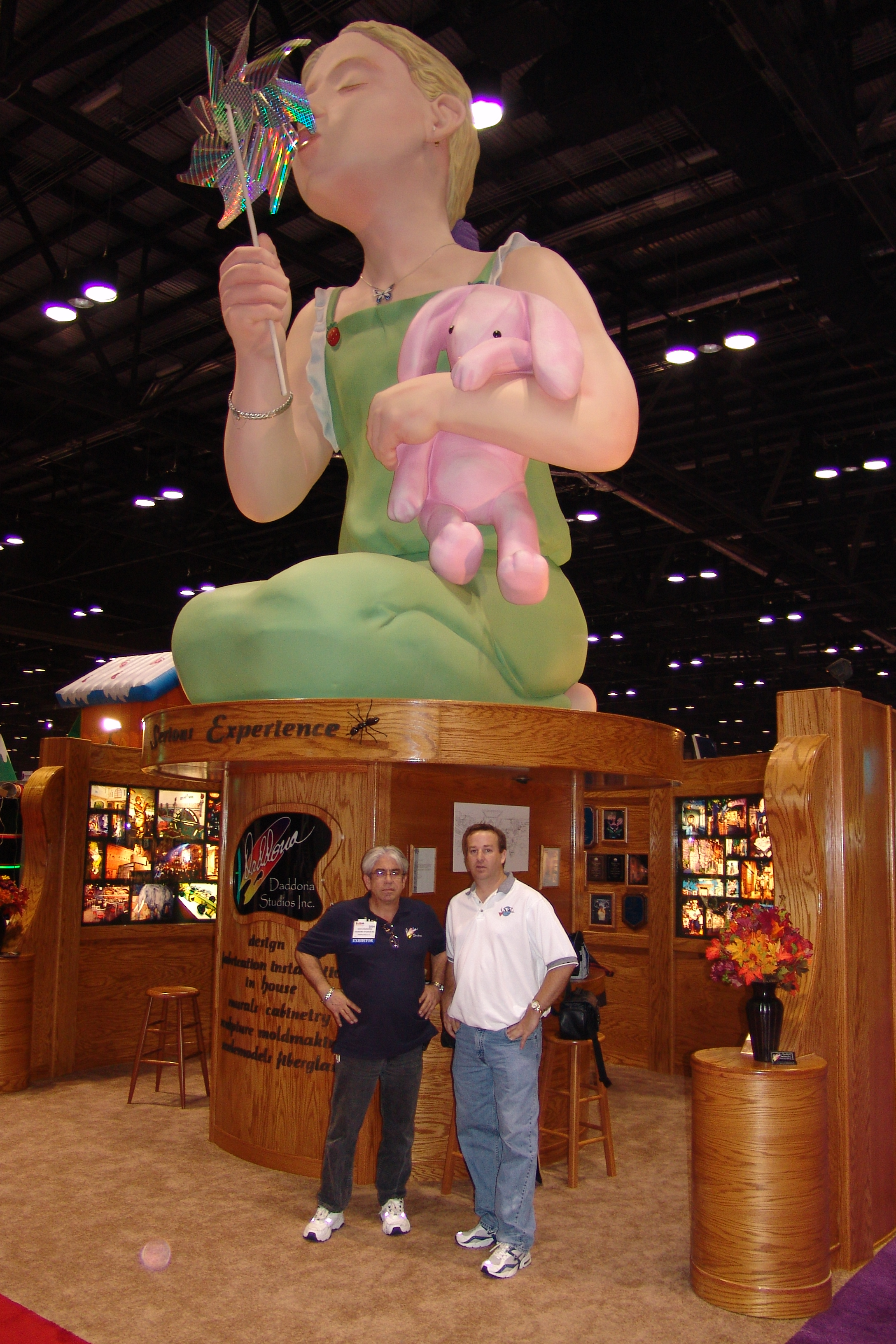Giant Character Trade Show