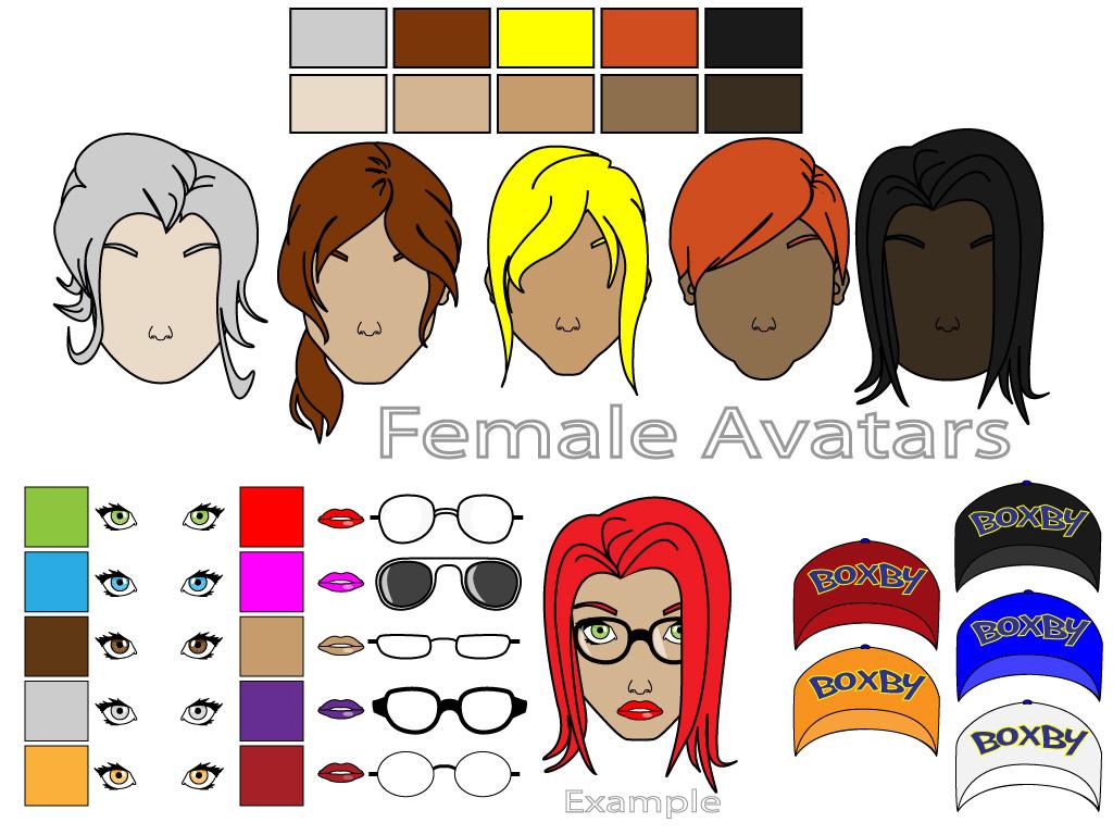 Female Avatars