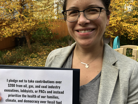 Emma Says No to Fossil Fuel Money