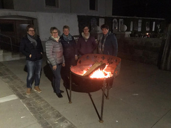 Hoher Donnerstag – Mahnfeuer