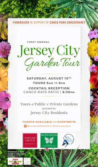 Jersey City Garden Tour