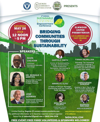 6th Annual Sustainable Empowerment Conference On May 26, 2018