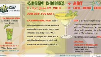 SJC Green Drinks + Art