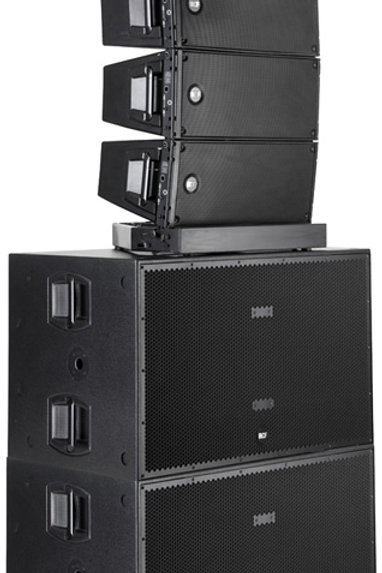 Location Line array RCF HDL 20 A