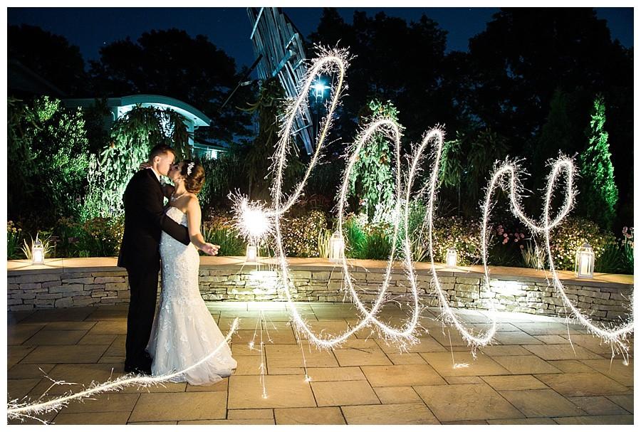 SPARKLER WEDDING PORTRAIT