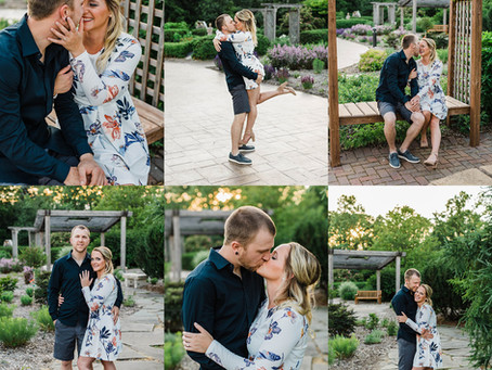 Appleton Summer Engagement with Ashley + Cody