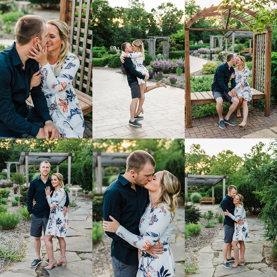 Appleton Summer Engagement with Ashley + Cody