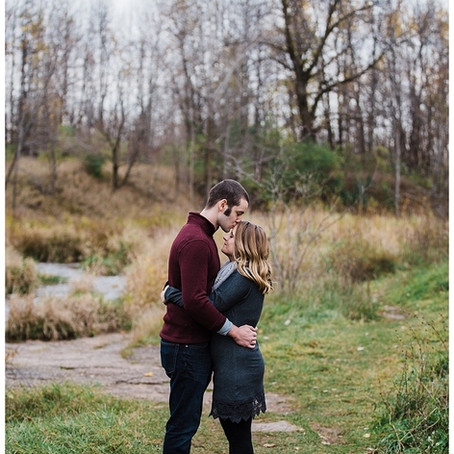 COLORFUL FALL ENGAGEMENT - GREEN BAY WEDDING PHOTOGRAPHER