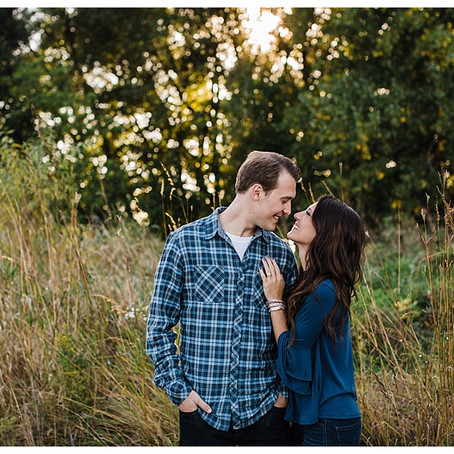 HIGH CLIFF STATE PARK ENGAGEMENT - APPLETON PHOTOGRAPHER