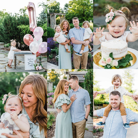 Appleton Family Photo Session + Cake Smash!