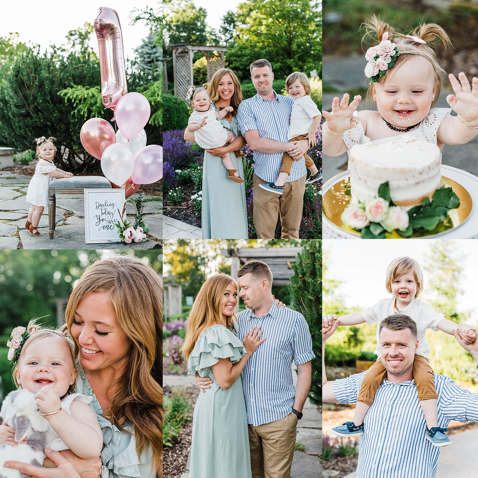 Appleton Family Photo Session + Cake Smash!