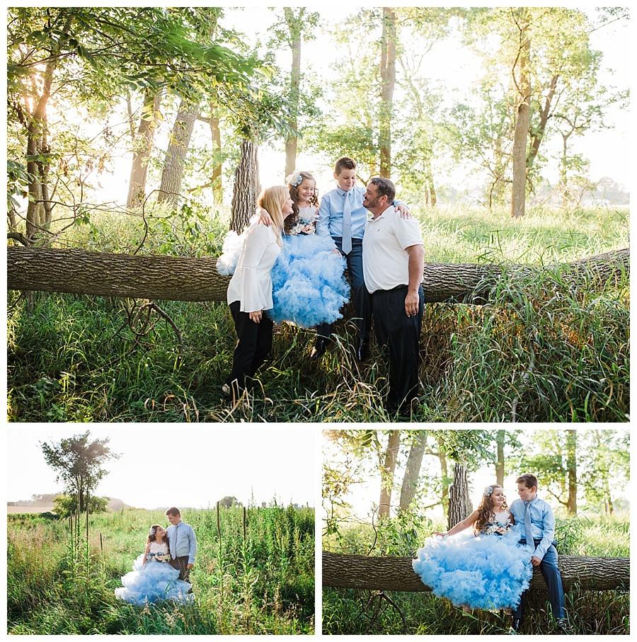 SUMMER SUNSET PORTRAITS - APPLETON FAMILY PHOTOGRAPHER