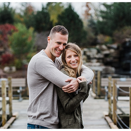 BAY BEACH WILDLIFE SANCTUARY ENGAGEMENT - GREEN BAY PHOTOGRAPHER